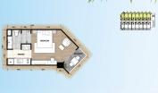 Palm Wongamat - 房间平面图 - 1