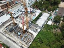 The Panora Condo - 2020-03 construction site - 1