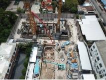 The Panora Condo - 2020-03 construction site - 2