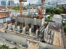 The Panora Condo - 2020-07 construction site - 2