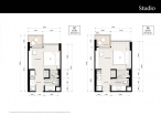 Riviera Jomtien - unit plans - 1