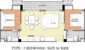 Venetian Condo Resort - unit plans - 3