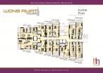 Wongamat Tower - floor plans - 1