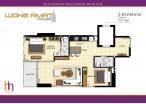 Wongamat Tower - unit plans - 7